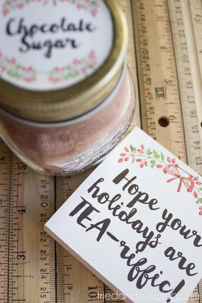 Tea-riffic Last Minute Teacher's Gift - Ready!