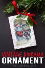 Vintage Diorama Ornaments DIY