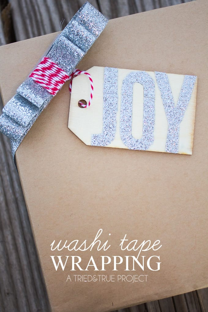 Customize your gift giving this year with these super easy Washi Tape Gift Wrapping ideas!