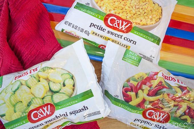 Healthier Elote en Vaso - Frozen Veggies