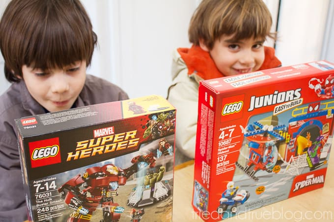 Teaching Emotions With LEGO Super Heroes - Excited