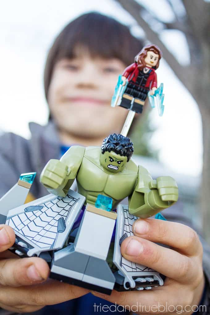 Teaching Emotions With LEGO Super Heroes - Done