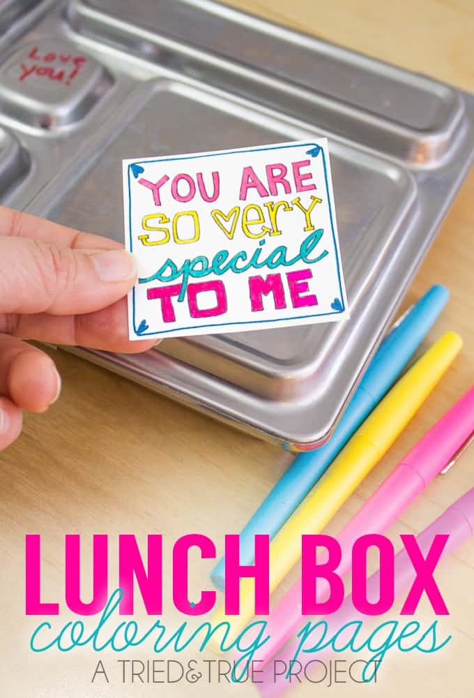 Lunchbox Notes To Make Your Kids' Day!