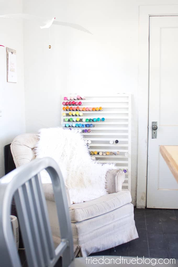 The Craft Cottage Studio Reveal - Paint