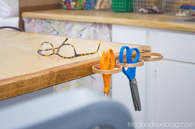 The Craft Cottage Studio Reveal - Scissors