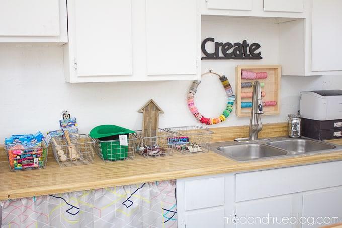 The Craft Cottage Studio Reveal - Queue