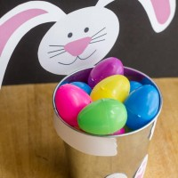 Cheap & Easy Bunny Pail - Fill