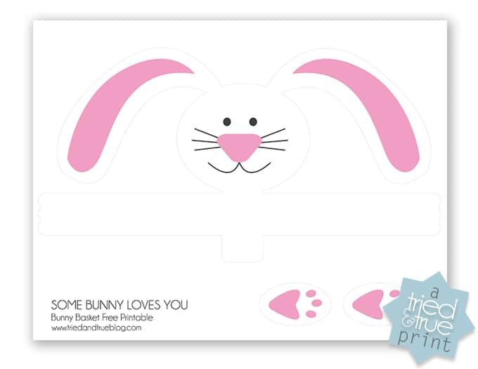 Cheap & Easy Bunny Pail - Print