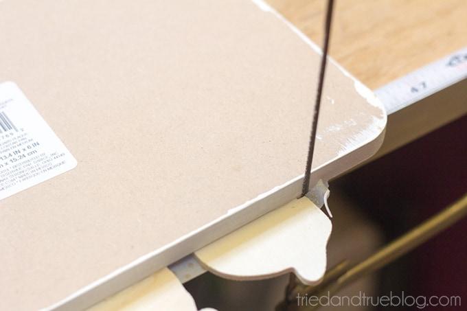 Decorative Spring Bread Board - Trim