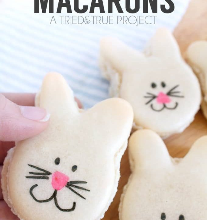 These Easter Bunny Macarons would make an adorable addition to your Easter table!