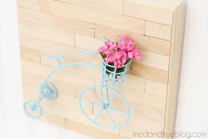 Mini Vintage Bicycle Art - Hang