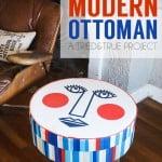 Mid-Century Modern Ottoman