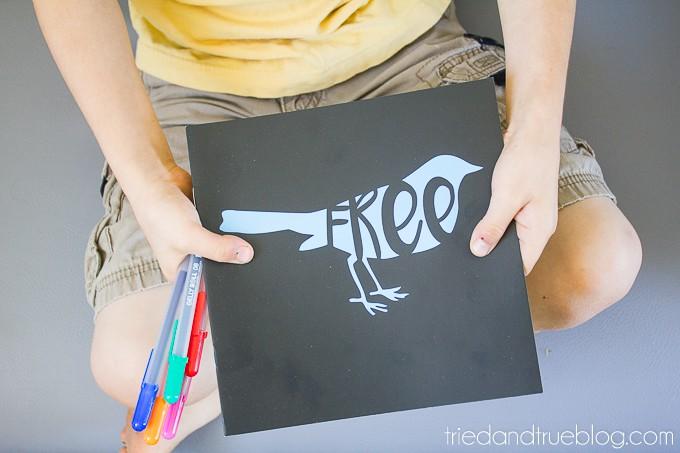Animal Silhouette Free File - Book