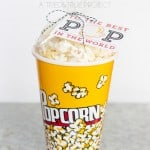 Easy Popcorn Gift for Father's Day