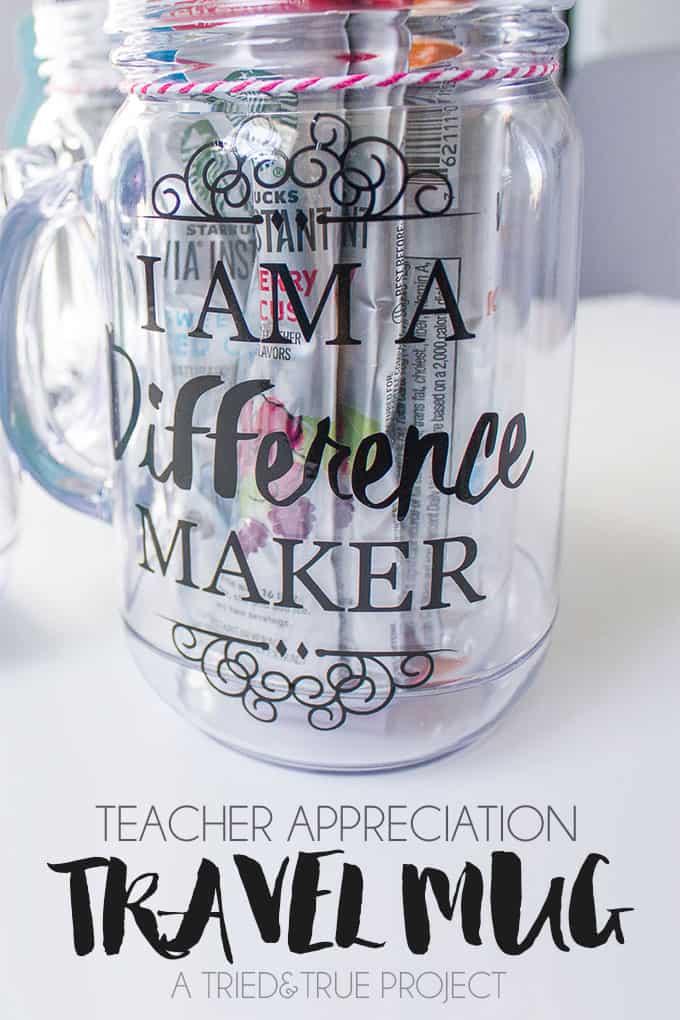Teacher Appreciation Travel Mug