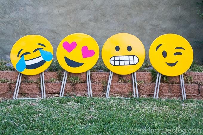 Emoji Side Table DIY - Tables