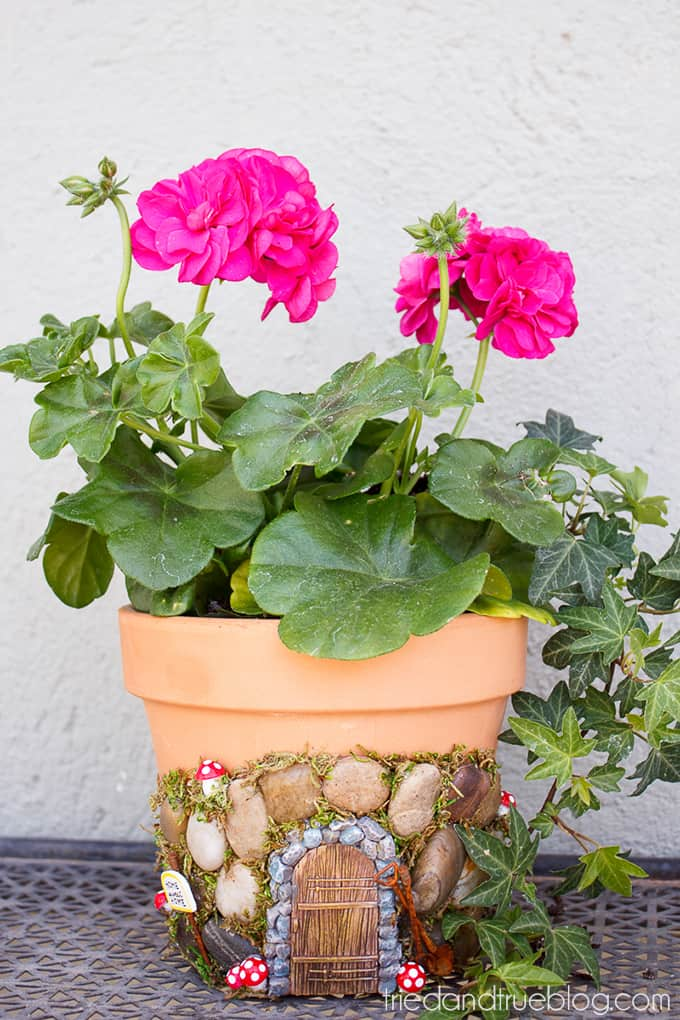 Magical Fairy Garden Planter - Flowers