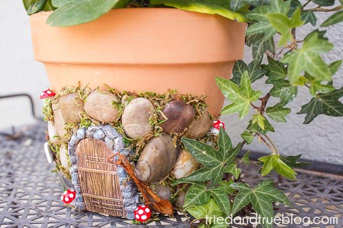 Magical Fairy Garden Planter - Door