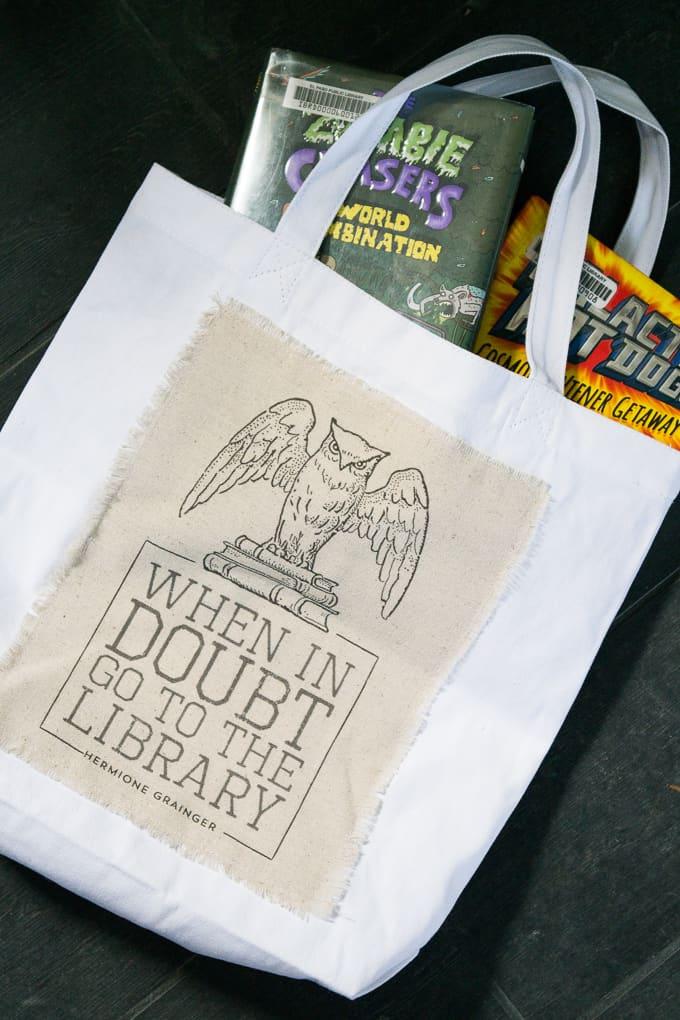 Harry Potter Library Bag - Books