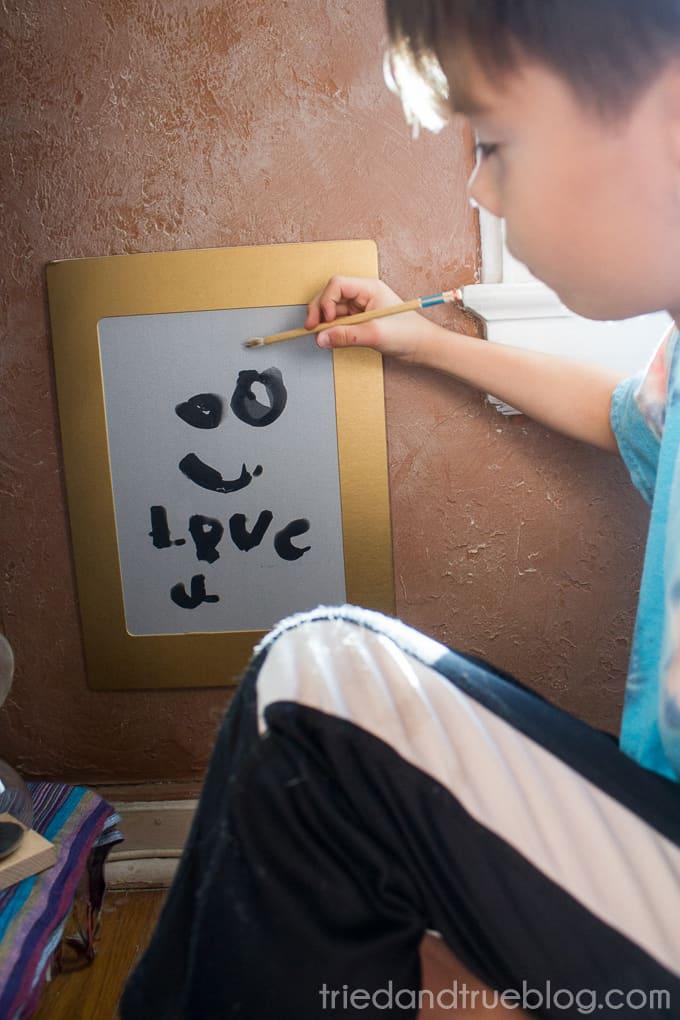 Kid-Friendly Meditation Corner - Art
