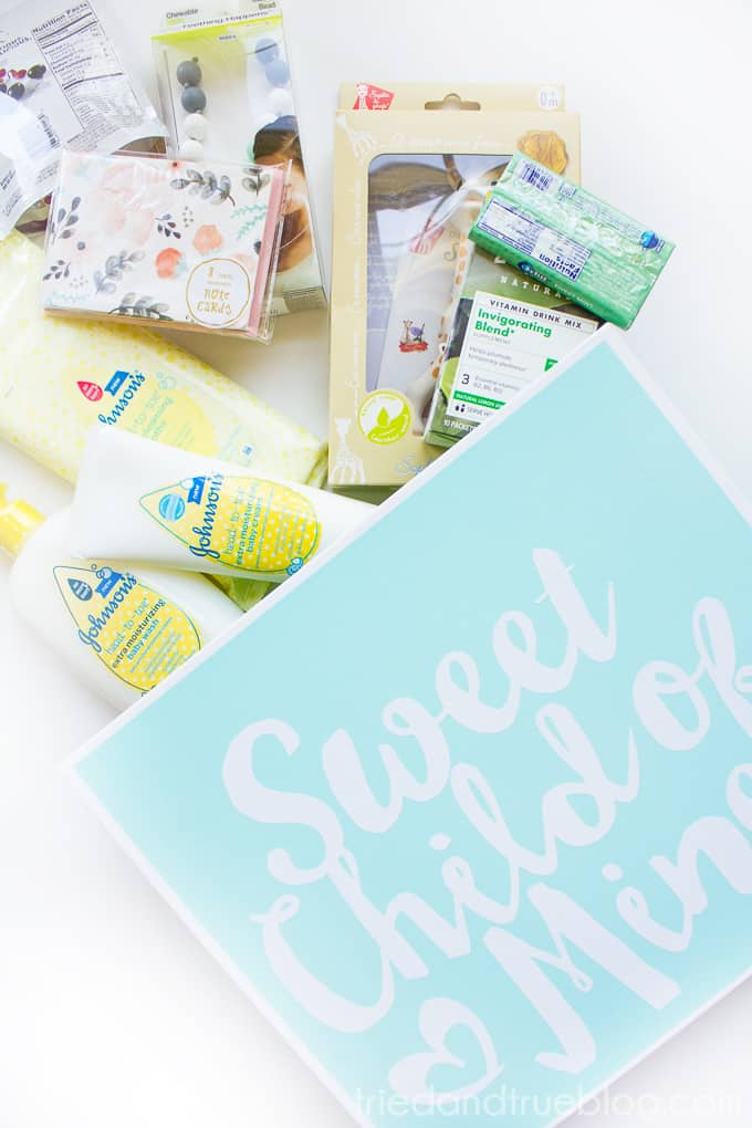 New Baby Survival Kit - Supplies