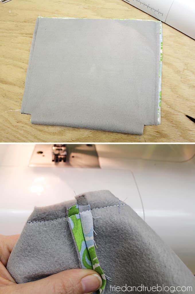 Fat Quarter Purse Tutorial & Pattern - Interfacing