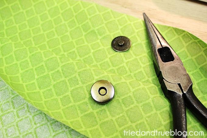 Fat Quarter Purse Tutorial & Pattern - Magnet