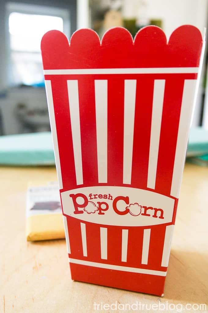 Healthy Pumpkin Spice Popcorn - Box