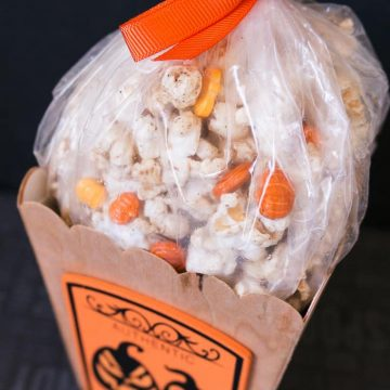 Healthy Pumpkin Spice Popcorn - Package