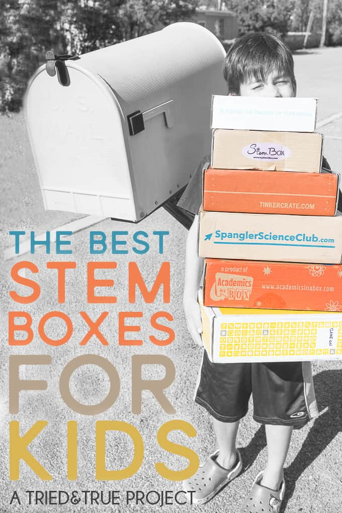 Looking to buy a STEM Subscription box for your kid? With so many choices it's hard to know which would be the perfect fit. Take a look inside each box before you make a decision!