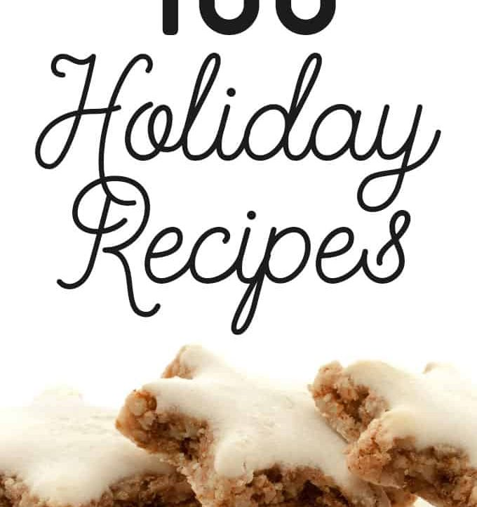 From appetizers to desserts, these 100 Holiday Food Recipes has everything you need!