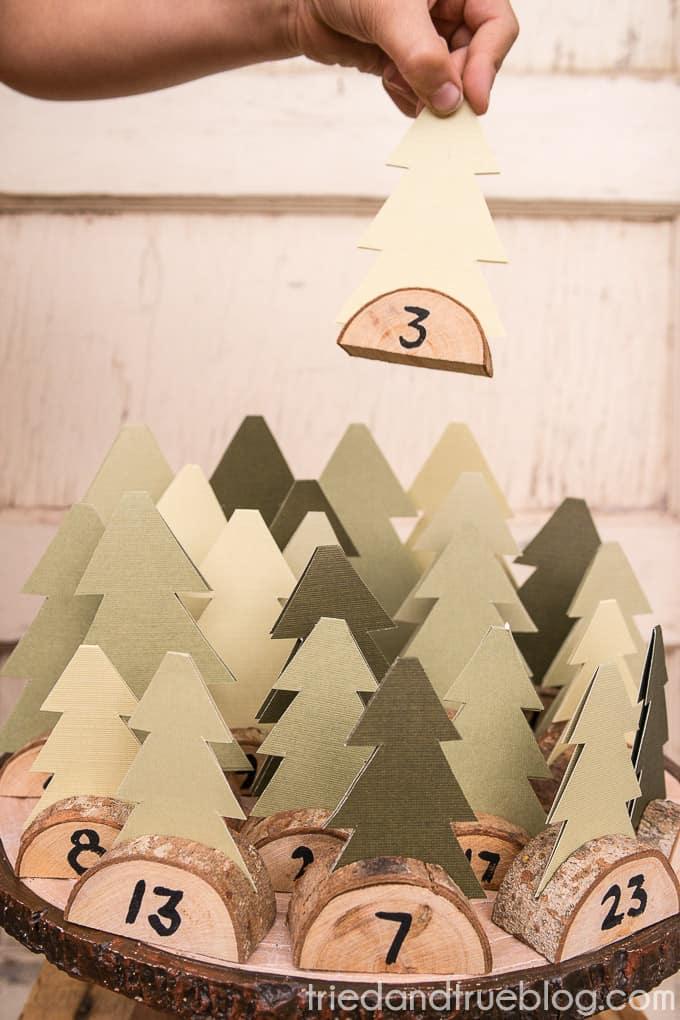 Christmas Tree Advent Calendar - Pick