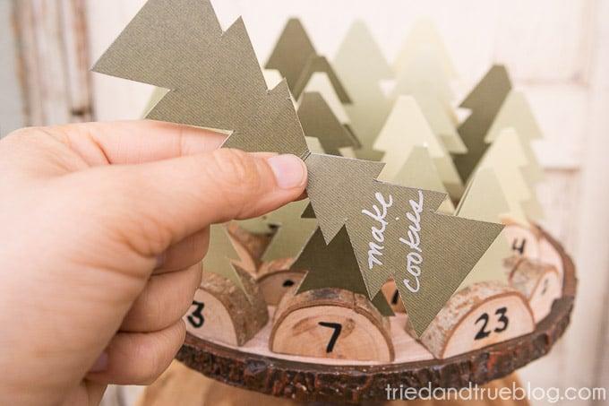 Christmas Tree Advent Calendar - Spread Joy