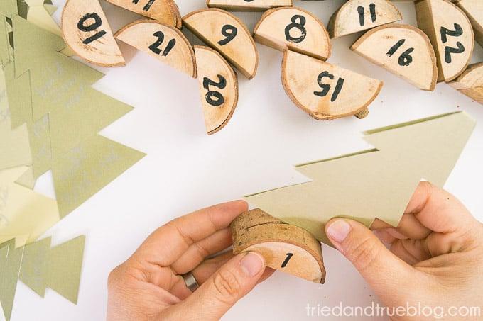 Christmas Tree Advent Calendar - Write