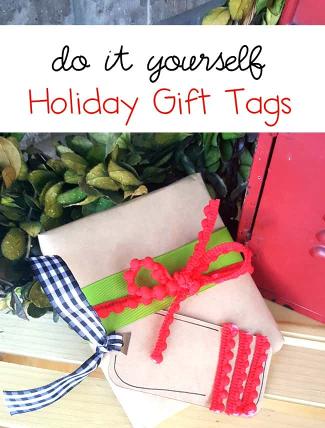 Easy jewelry holder last minute gift tried true diy holiday gift tags solutioingenieria Image collections