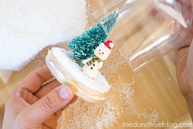 DIY Recycled Snow Globe - Cover