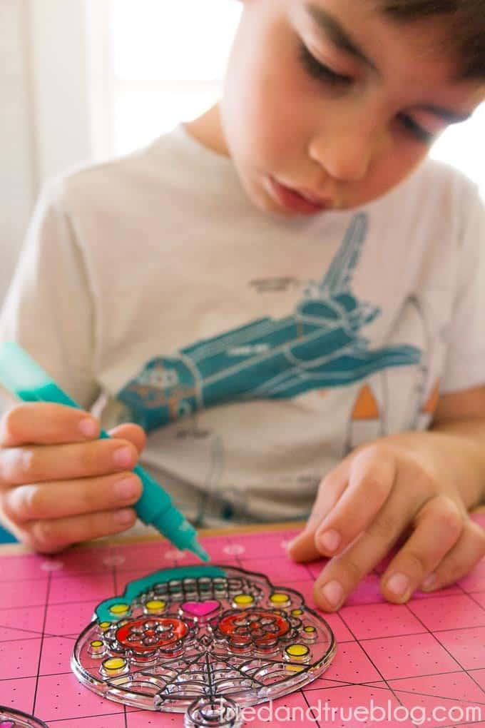 Dia De Los Muertos Coasters - Kids