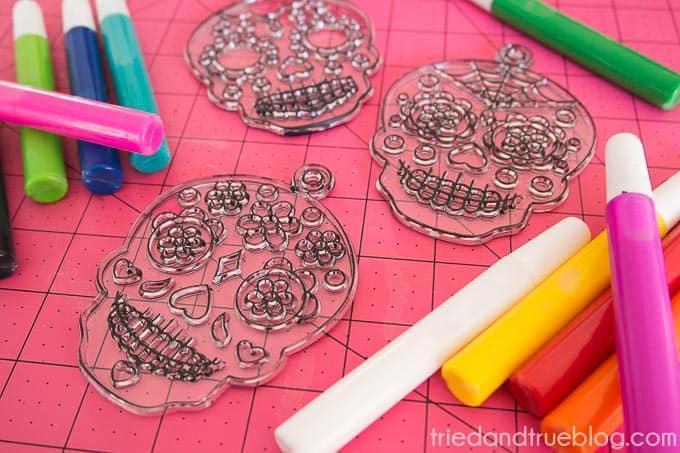 Dia De Los Muertos Coasters - Craft