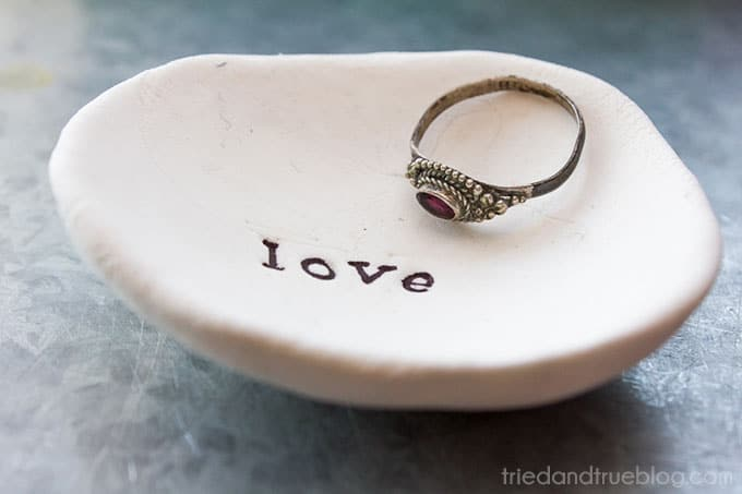 Easy Jewelry Holder Last Minute Gift - Ring