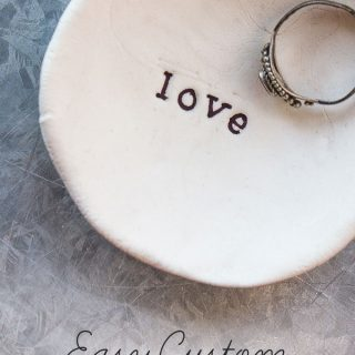 Easy Jewelry Holder Last Minute Gift