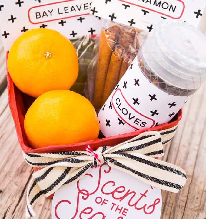Easy Simmering Potpourri Holiday Gift - Packaged