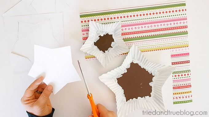 Handmade Holiday Candy Dish - Paper