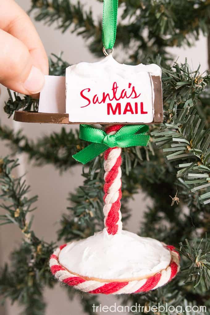 Santa's Mailbox Ornament - Wishlist