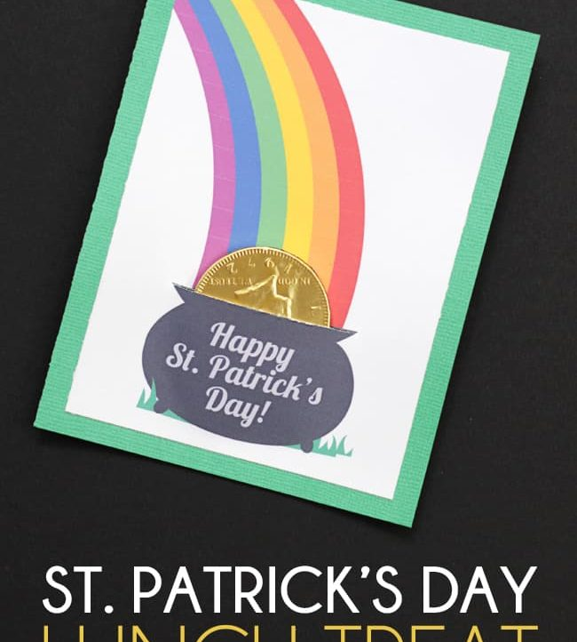 Make this Quick & Easy St. Patrick's Day Candy Gift Card in under 5 minutes!
