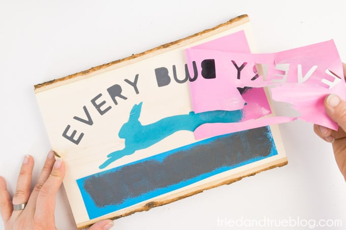 """""""Every Bunny Welcome"""" Easter Vintage Sign - Remove"""