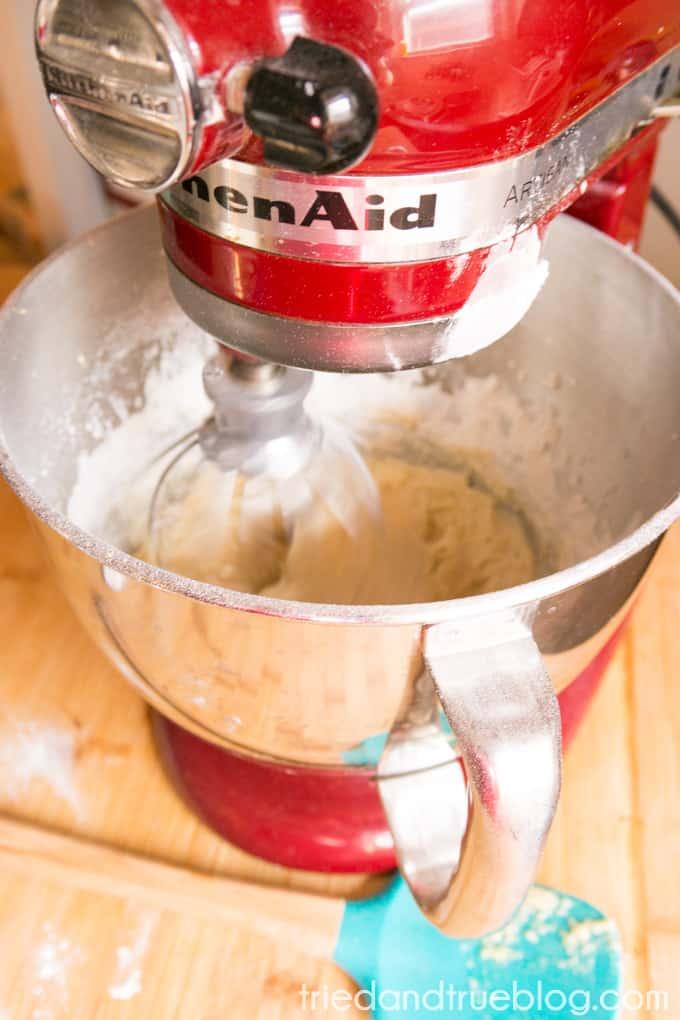 Instant Pot Lemon Blueberry Cake - Batter