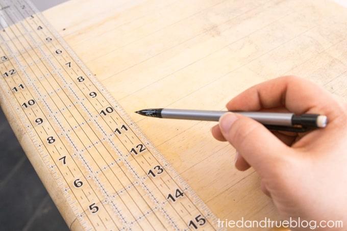 Metallic Checkerboard Side Table - Checkerboard