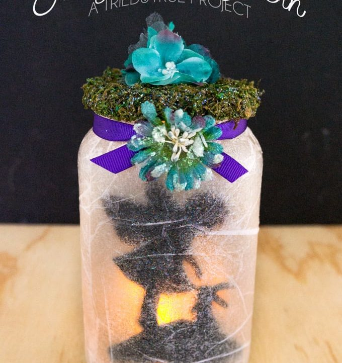Make this easy Fairy Jar Lantern in just 15 minutes. Perfect craft for Mother's Day!
