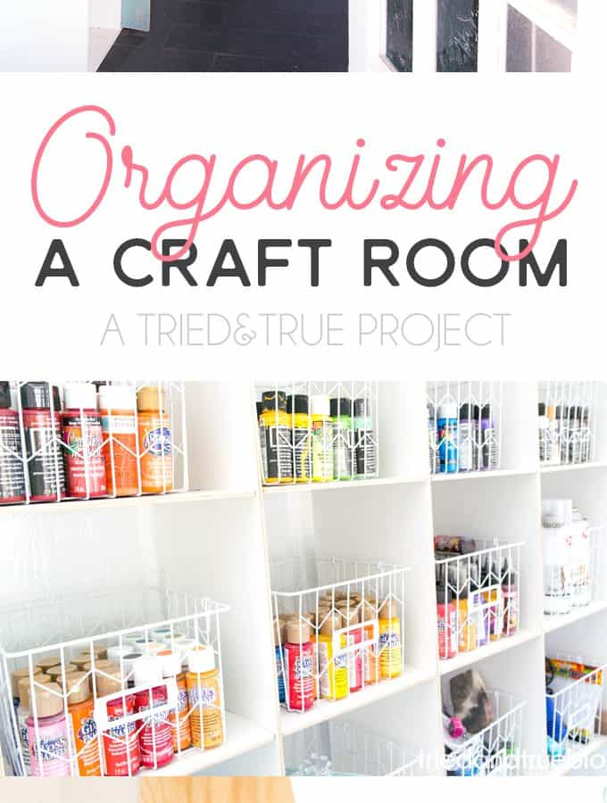Use these ideas for Organizing The Craft Cottage!