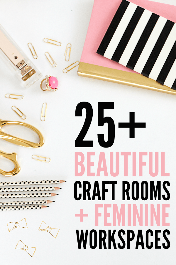 Organizing The Craft Cottage - Craft Room Hop